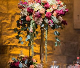 Autumn Wedding Florals and Decor by 